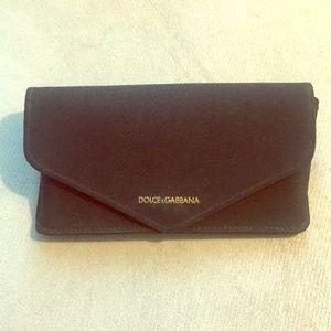 Dolce and Gabbana sunglass case